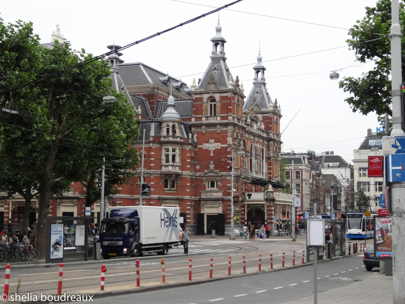 The tram is a great alternative if you don't want to Bike in Amsterdam