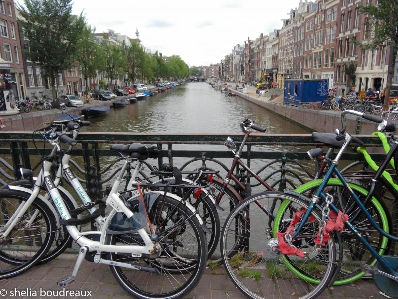 Amsterdam - Bikes, Bikes, Everywhere there are Bikes!