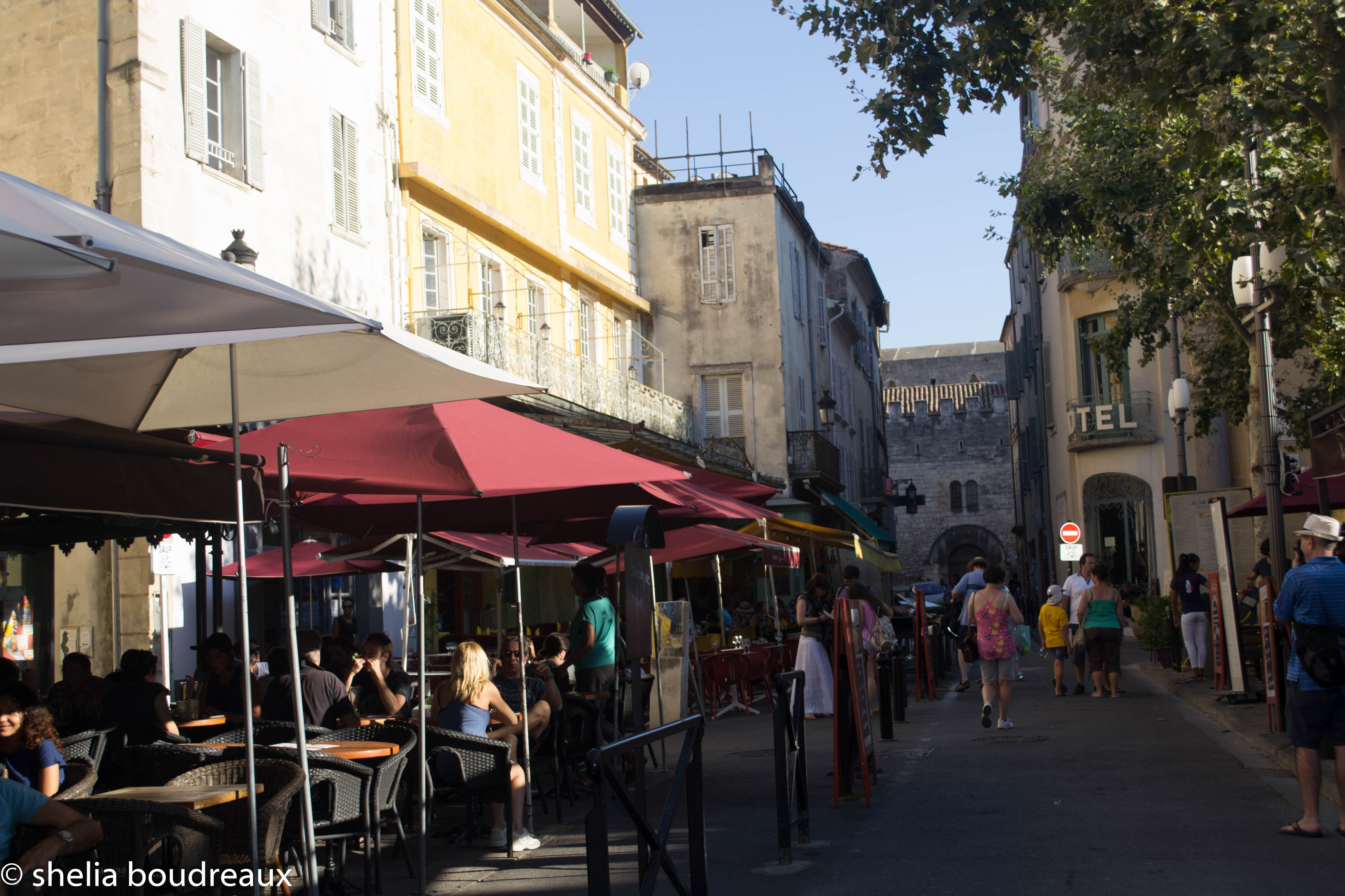 Cafe Terrace, Arles Painted by Van Gogh