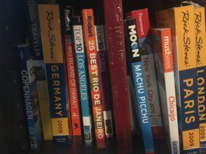 Photo of my travel books