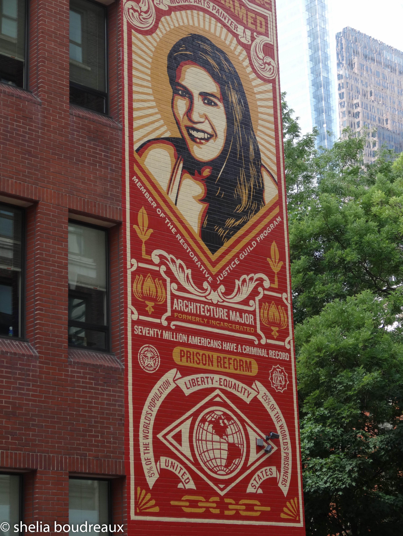 Shepard Fairey - Philadelphia Mural Tour
