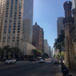 Shopping on Michigan Avenue Chicago